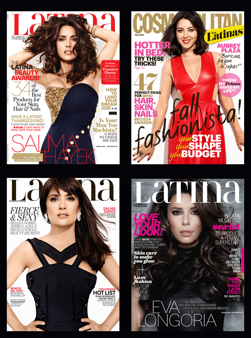 LATINA X4 covers
